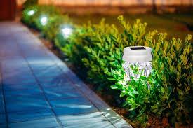 Landscaping Solar Lights Led Solar Landscape Lights Around Pool Home Design Ideas A Led