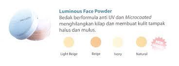Bedak Tabur Wardah Anti Acne by wardah luminous powder
