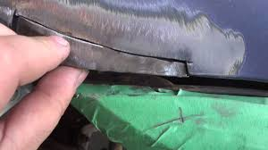 Classic Ford Truck Body Panels - how to repair rust and weld body panels youtube