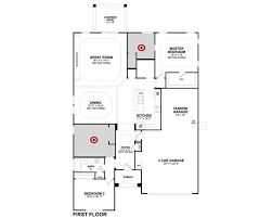 Beazer Home Floor Plans by 8219 S 42nd Dr Copley Home Plan In Artesa Laveen Az Beazer Homes
