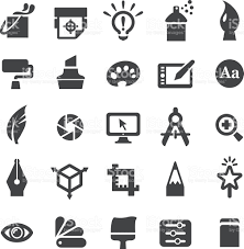 design icons graphic design icons set smart series stock vector 510388692