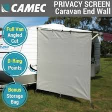 Caravan Awnings For Sale Ebay Camec Caravan Privacy Screen End Wall Side Sunscreen Shade For