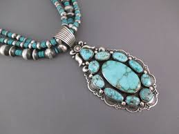 turquoise necklace earring set images Pilot mountain turquoise pendant necklace earring set jpg