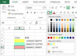 removing recent colors from microsoft excel peltier tech blog