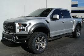 Ford Raptor Truck Wheels - 2017 ford raptor silver total auto pros phoenix az tires