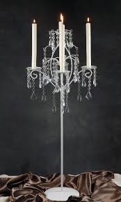 hanging crystals candelabra with hanging crystals set of 2