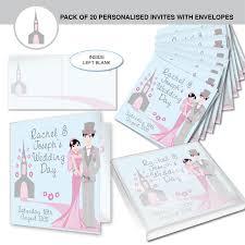 personalised fabulous wedding invitations
