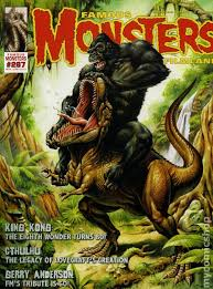 famous monsters filmland 1958 magazine comic books