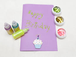 Make A Invitation Card Free How To Make A Simple Handmade Birthday Card 15 Steps