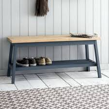 hallway storage bench great little entry bench with baskets for storage love the stone