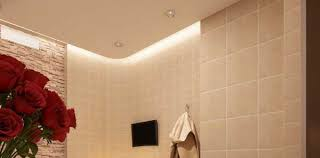 Ceiling Ideas For Bathroom 30 Glowing Ceiling Designs With Led Lighting Fixtures