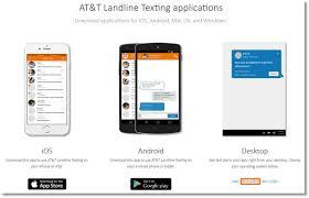 download and install at u0026t landline texting desktop application