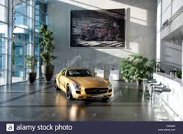 mercedes showroom germany affalterbach germany showroom of mercedes amg stock photo