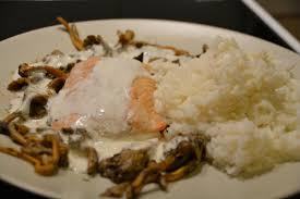 cuisiner des chanterelles pavé de saumon aux chanterelles sauce au vin blanc et riz la