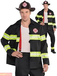 Fireman Costume Mens Firefighter Costume Rescue Me Fire Man Uniform Fancy