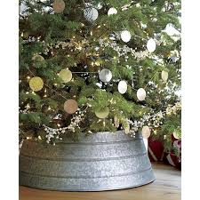 how to make a tree skirt out of a galvanized tub crate barrel
