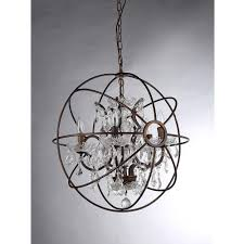 beau orb chandelier bronze large by ballard designs havenly warehouse of tiffany planetshaker ii 6 light antique bronze chandelier with shade
