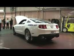 fastest stock mustang made fastest car in the 2012 mustang cobra jet 0 60 less than a
