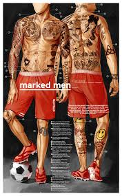 us soccer tattoo marked men q u0026 a eight by eight