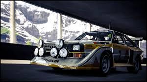 audi rally alexander provence audi sport quattro s1 rally car