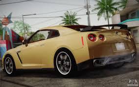 Nissan Gtr Yellow - nissan gtr egoist for gta san andreas