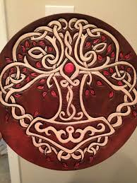 buy a crafted celtic viking norse tree of trivet made to