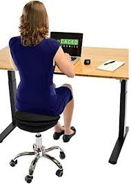 rolling stand up desk amazon com uncaged ergonomics wsa b wobble stool air rolling