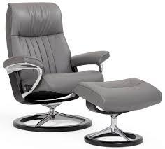 stressless crown chair u0026 ottoman signature base century
