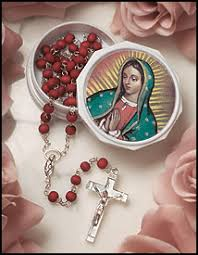 our of guadalupe rosary jmj products totallycatholic guadalupe items