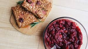 thanksgiving sauce black pepper tempeh savory cranberry sauce u2022 vegan thanksgiving