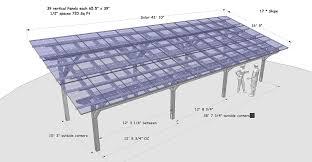 Car Port Plans Solar Carport Plans