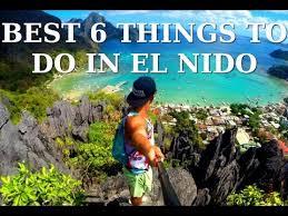 best 6 things to do in el nido gopro 3