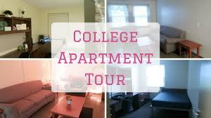 minimalistic college apartment tour suny albany youtube