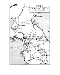 Washington Dc Map Of Us by Map 4 Nkpa Order Of Battle 25 June 1950