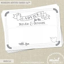 and groom cards wedding advice cards for the and groom wedding messages