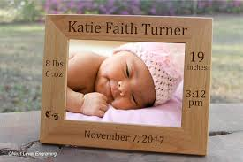 keepsake baby gift baby picture frame baby keepsake gift personalized baby stats