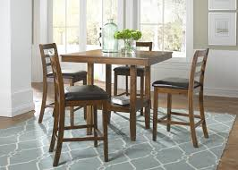 liberty furniture tucson dining ii 5 piece gathering table set