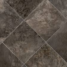 Kitchen Sheet Vinyl Flooring by Shop Ivc 13 167 Ft W Nebraska 999 Tile Low Gloss Finish Sheet