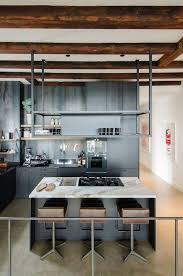kitchen island shelves deep grey kitchen island equipped with multiple drawers light grey