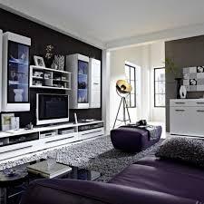 Wohnzimmerm El Modern Weiss Wohnzimmer Wandgestaltung Schwarz Weiß Bezaubernde Auf Moderne