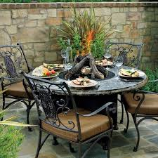 outdoor dining sets with fire pit fire pit ideas