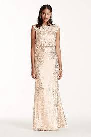 calvin klein wedding dresses gold bridesmaid dresses you ll david s bridal