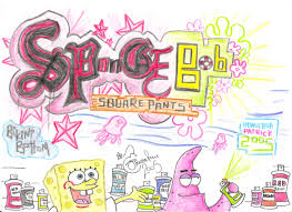 spongebob squarepants graffiti by iaciofano on deviantart