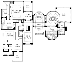 european style house plan 4 beds 3 50 baths 4507 sq ft plan 61 369