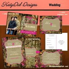 camouflage wedding invitations instant mossy oak inspired camo camouflage 5x7