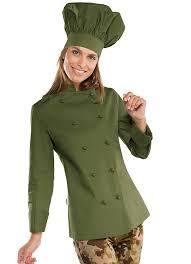 veste cuisine veste cuisine femme vert olive vêtements de cuisine femme