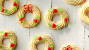 holly wreaths recipe taste of home