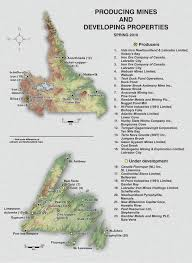 Map Of Newfoundland Canada by Mines Natural Resources