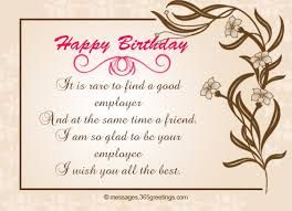 Happy Birthday Wish You All The Best In Birthday Wishes For Boss 365greetings Com