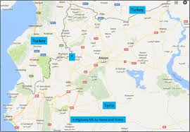 Syria Turkey Map by Map Of Northwest Syria Asterisk Marks Border Crossing At